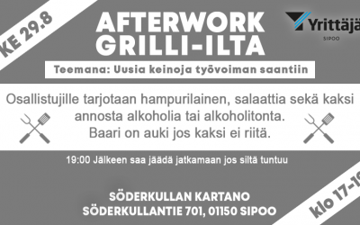 Afterwork- Grillkväll